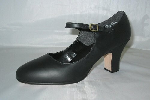 "THEATRICAL CHARACTER  ALL LEATHER  2 1/2"" HEEL...on line sale!"