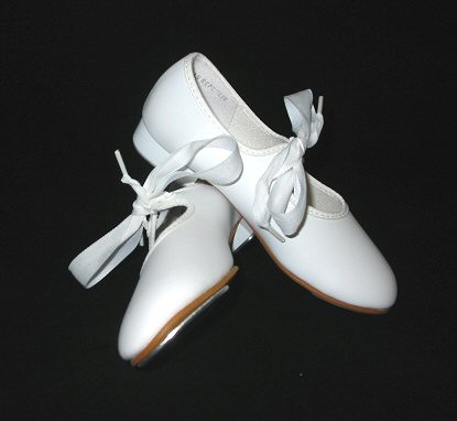 WHITE TAP SHOE ON LINE SALE